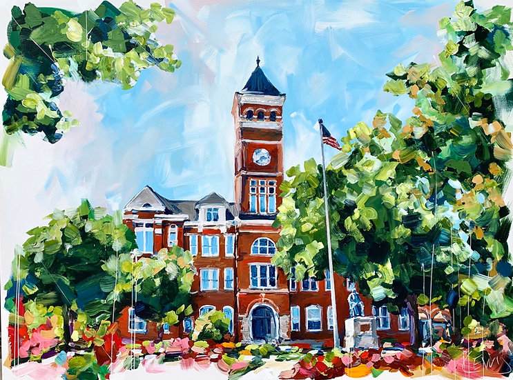 Clemson's Tillman Hall Print
