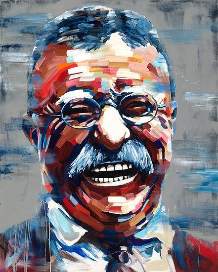 T. Roosevelt Portrait Print