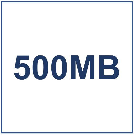 500MB Data Plan Benchmarks