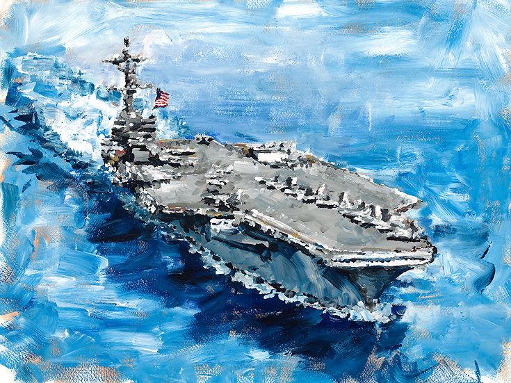 Aircraft Carrier Print