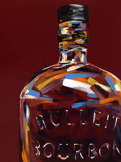 Bulleit Bourbon Print