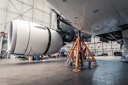 Air Austral's B777-300 C-Check on Jacks