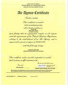 Approval Certificate of FAA - HAIY901D -