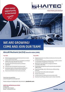 Aircraft Mechanic (m/f/d)