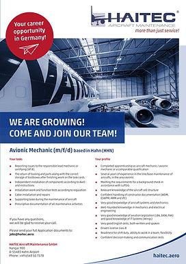 Avionic Mechanic (m/f/d)
