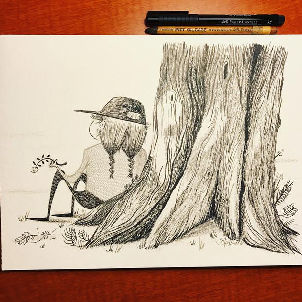 Slow down sketch