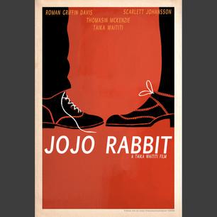 """JoJo Rabbit"" 2019 Oscar poster design"