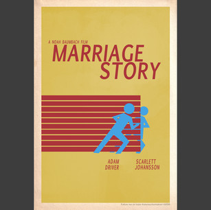 """""""Marriage Story"""" 2019 Oscar poster design"""