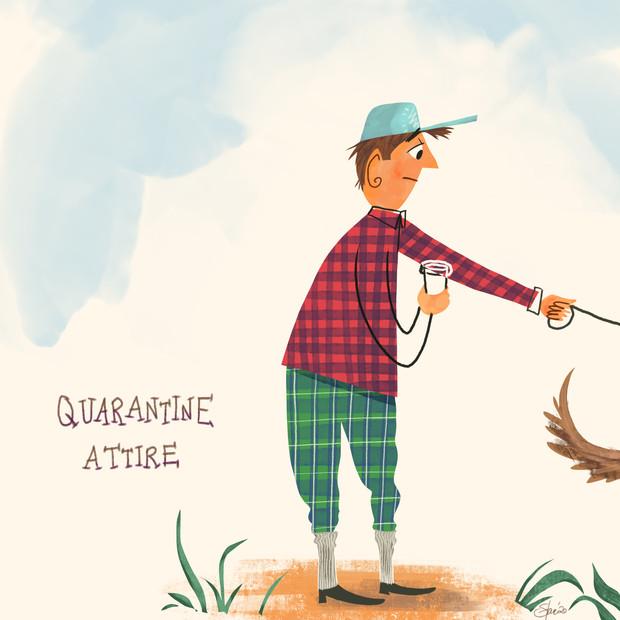 Quarantine Attire sketch