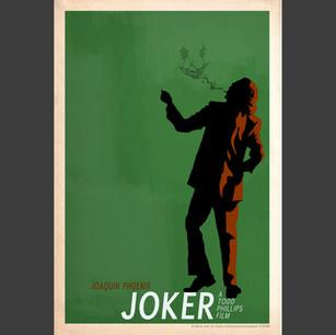 """""""Joker"""" 2019 Oscar poster design"""