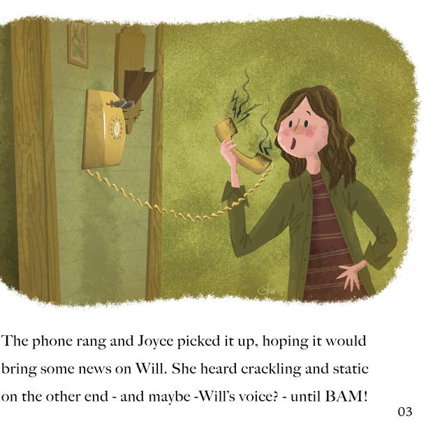 Stranger Things Golden Book concept