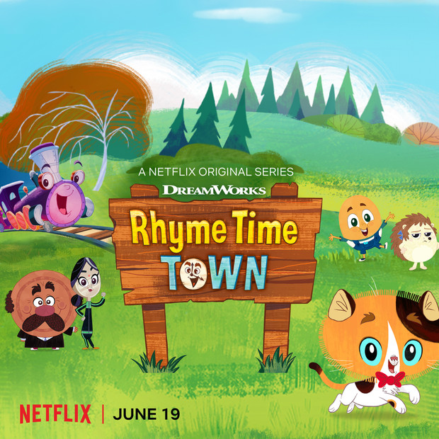 """DreamWorks """"Rhyme Time Town"""" premieres June 19th on Netflix!"""