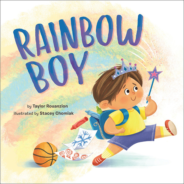 RAINBOW BOY Picture Book cover