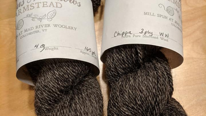 Chippa 3 ply worsted weight