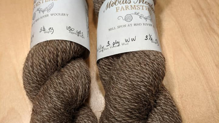 Willy 3 ply worsted weight