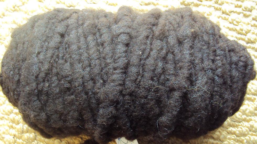 Dark Brown Rug Yarn