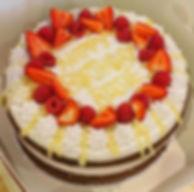 Lemon birthday cake 🎂 🍋always vegan, g