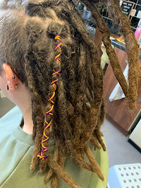 Thicker dreads