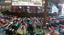 I have a love/hate relationship with Yoga classes...