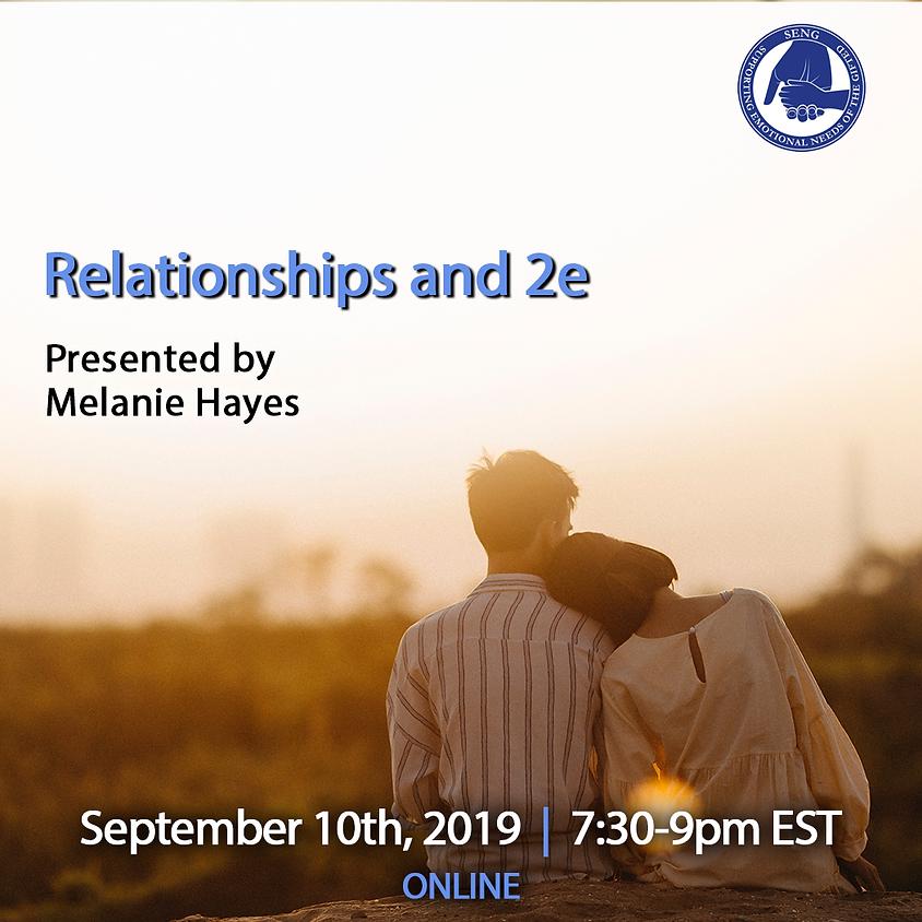 SENGinar - Relationships and 2e