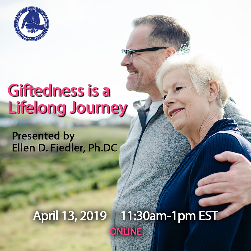 SENGinar: Giftedness is a Lifelong Journey
