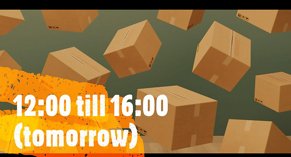 *Oversize* 12:00 till 16:00, Same Day Delivery (tomorrow)