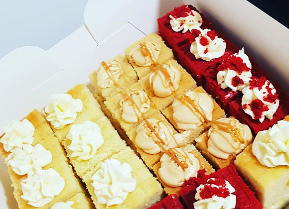 Cake platter/tray in 3 flavours