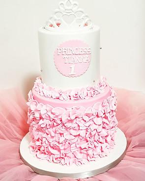 Ist year birthday cake