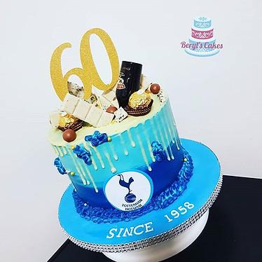 Buttercream 60 birthday cake