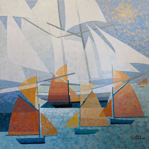LES VOILES BLANCHES