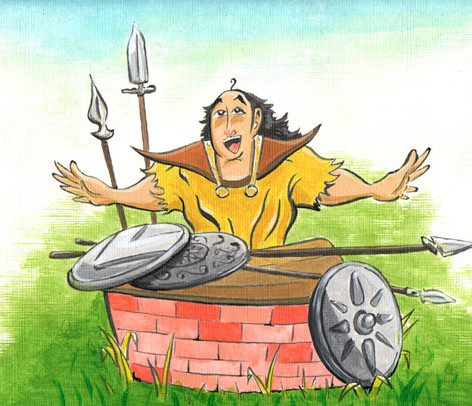 The Spears and Shields Salesman, Children's Book.