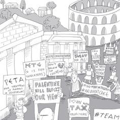 Roman Protests