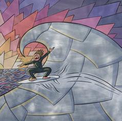 Surfing in my mind