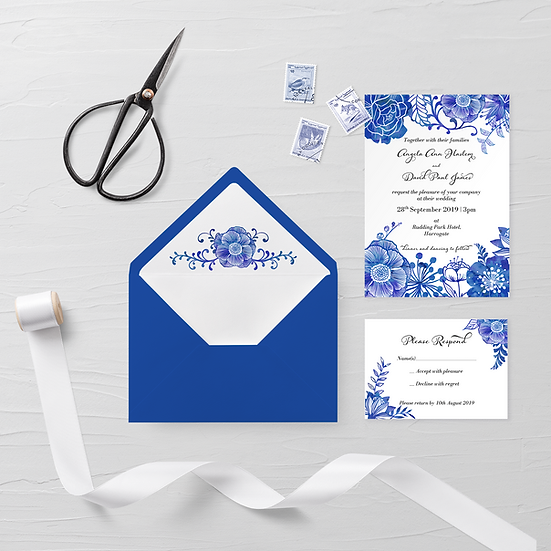 Delft Evening Invitations