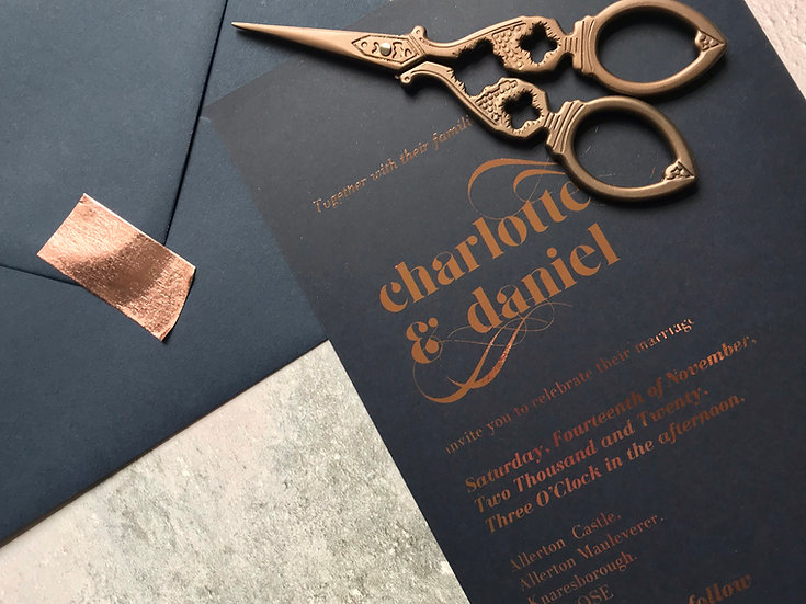 Chloe Evening Invitations