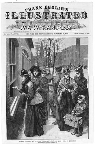Women's Suffrage Wyoming