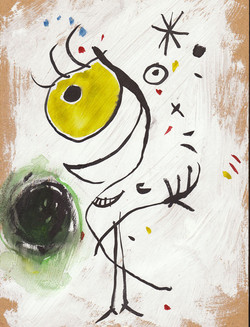 """Portrait Pretending to be Miro"""