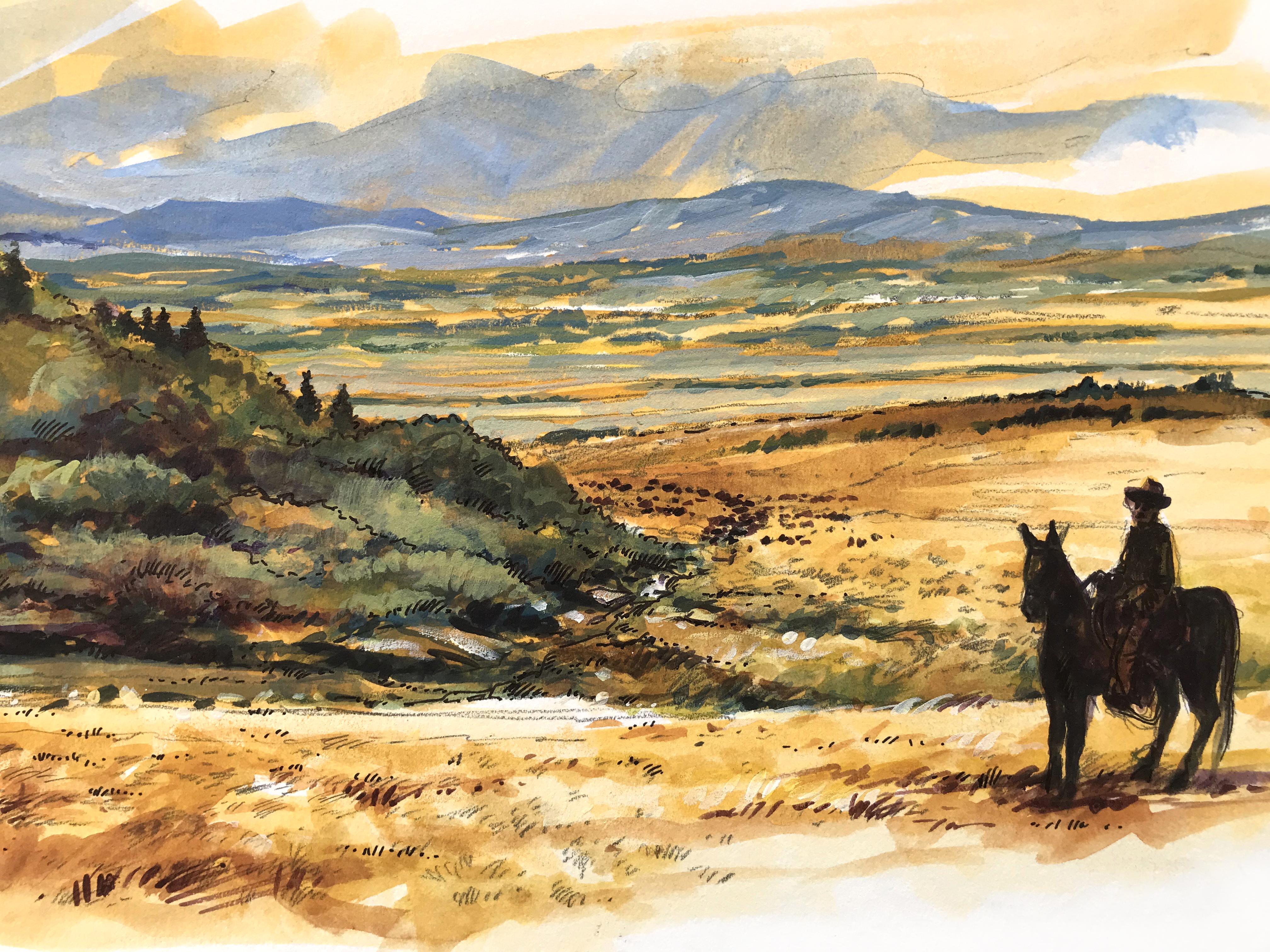 """Bar U Ranch Landscape"""