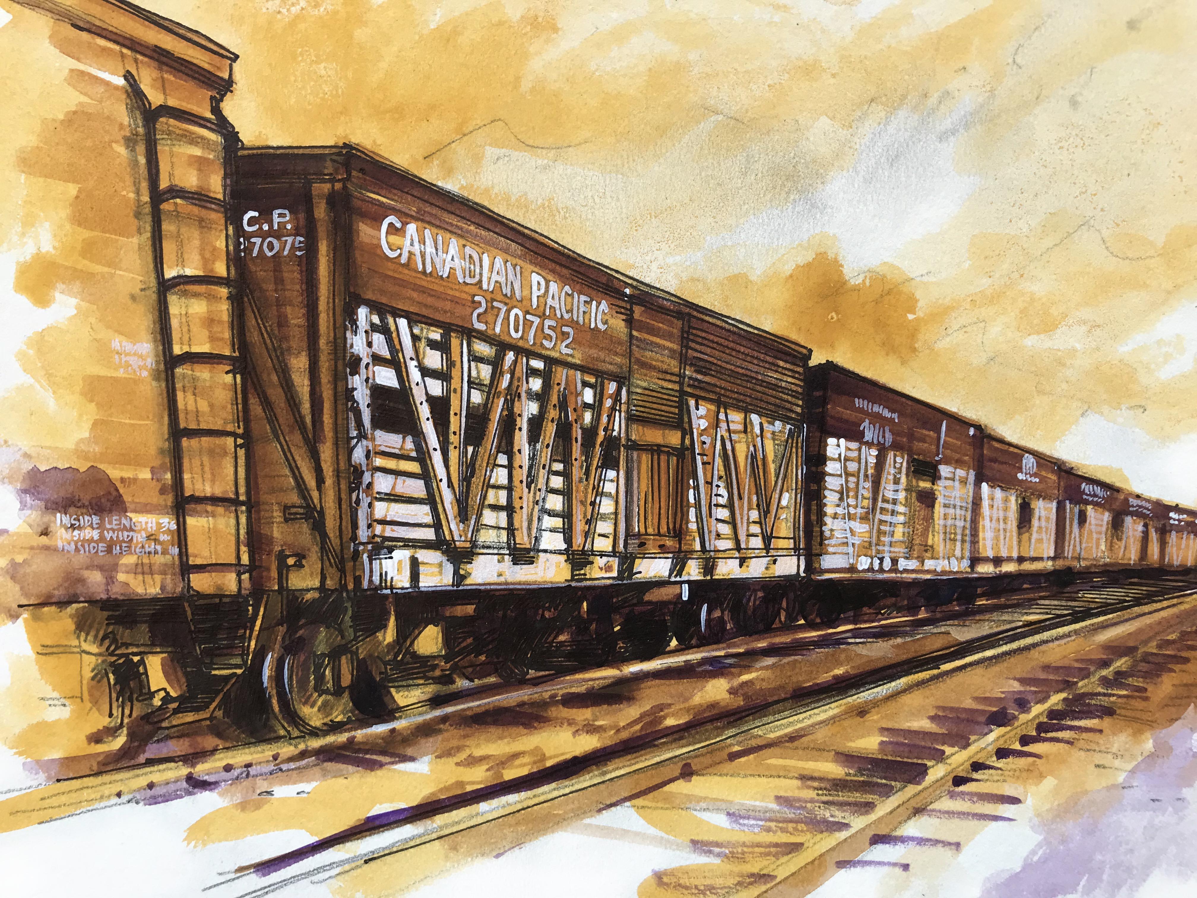 """Rail Cars"""