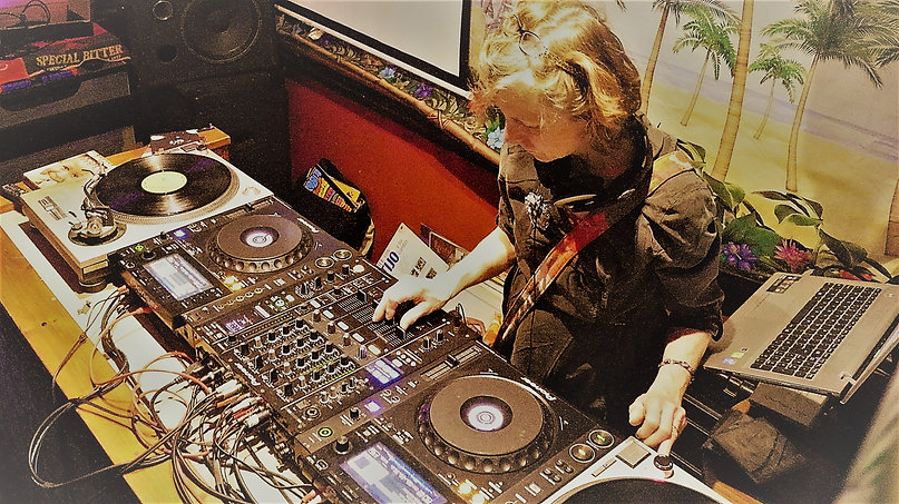 DJ Ms Fabulous Plays at ¡TROPICA! in TheCrescent Community Venue, York, UK.