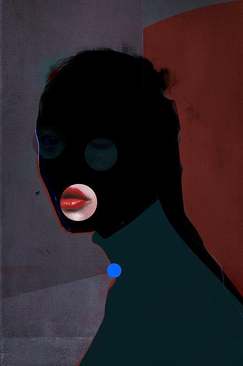 I'm beautiful, just wearing a mask