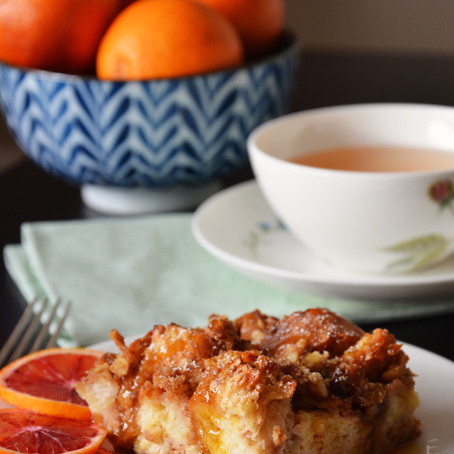 Rugelach French Toast Bake