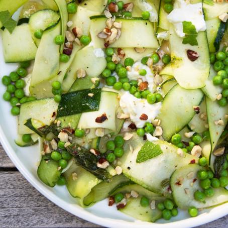 Zucchini Ribbon & Ricotta Salad