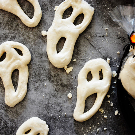 Scream Meringue Cookies