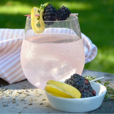 La Vie en Lavende -   A summery lavender- thyme cocktail