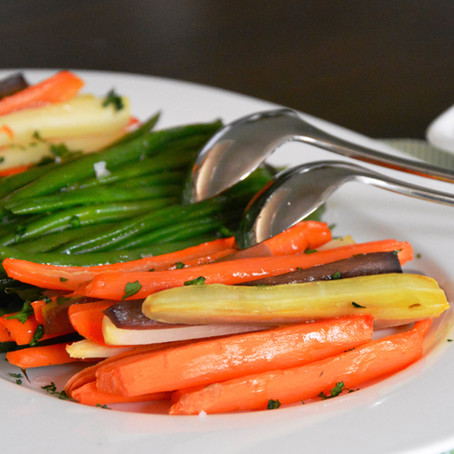 Prepare Ahead Vegetable Platter