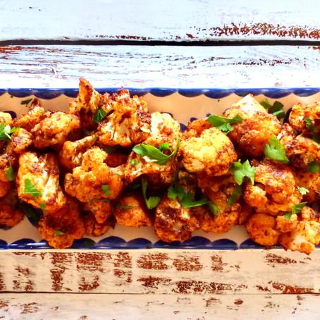 Buffalo Cauliflower Poppers