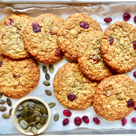 Oatmeal, Pumpkin Seed & Cranberry Cookie
