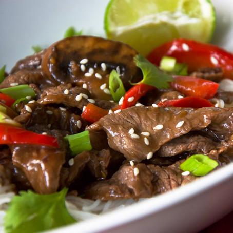 Thai Beef & Pepper Stir Fry
