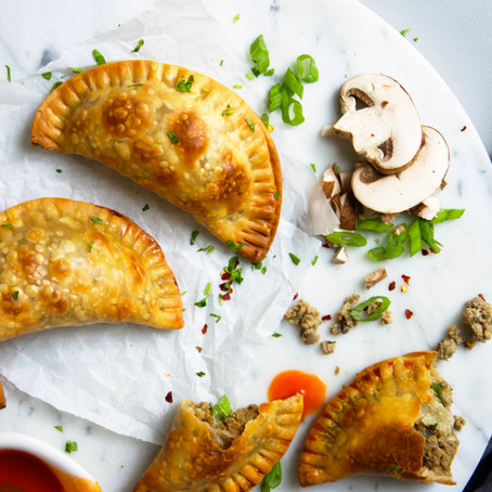 Turkey & Mushroom Hand Pies